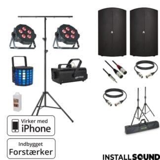 """Højtaler på 15"""" fra American DJ - Avante 15A med taske - ADJ mini Dekker - ADJ VF 1100"""