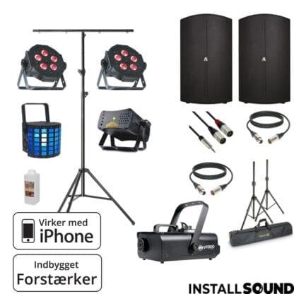 """Højtaler på 15"""" fra American DJ - Avante 15A med taske - ADJ mini Dekker - ADJ VF 1300"""