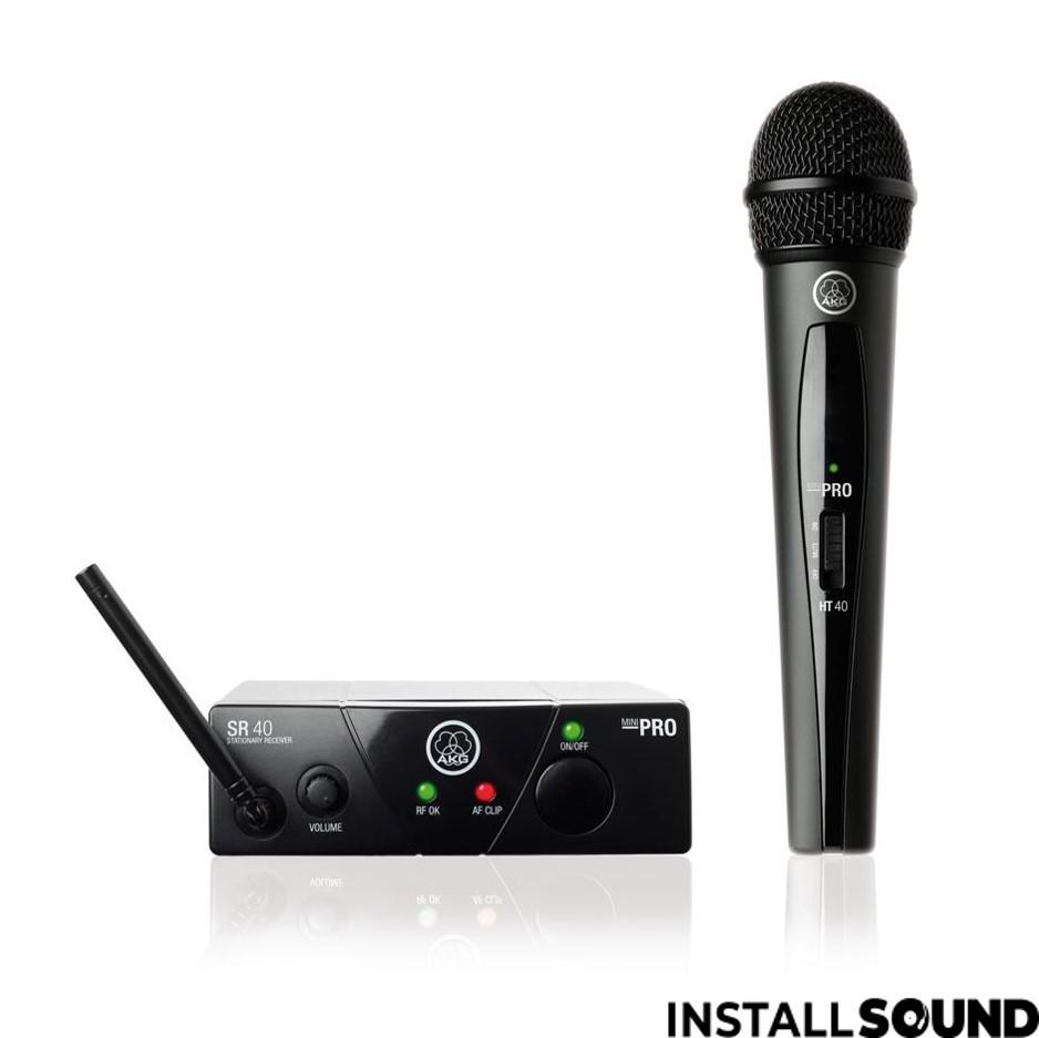 Trådløs mikrofon fra AKG