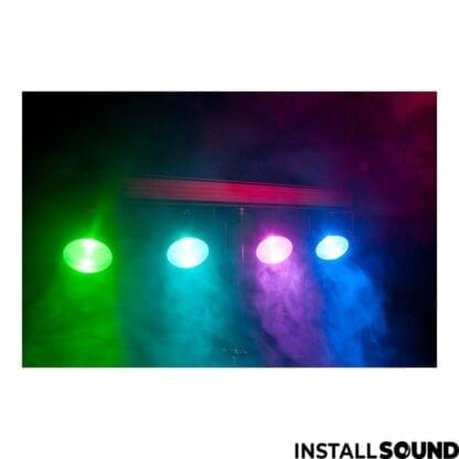 Lysbar med fodpedal fra American DJ - ADJ med farverne rød, grøn og blå