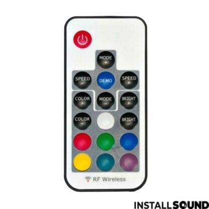 Højtaler stativ med farvet lys - fra American DJ