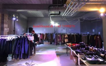 tøj lager salg af InstallSound.dk