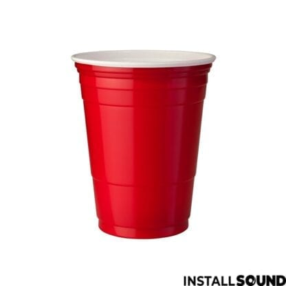 Lej Beer pong kupper i rød hos Installsound