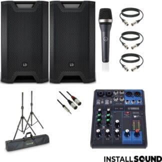 Speaker_pakke_mellem_100_Gaester_Mixer_Mikrofon