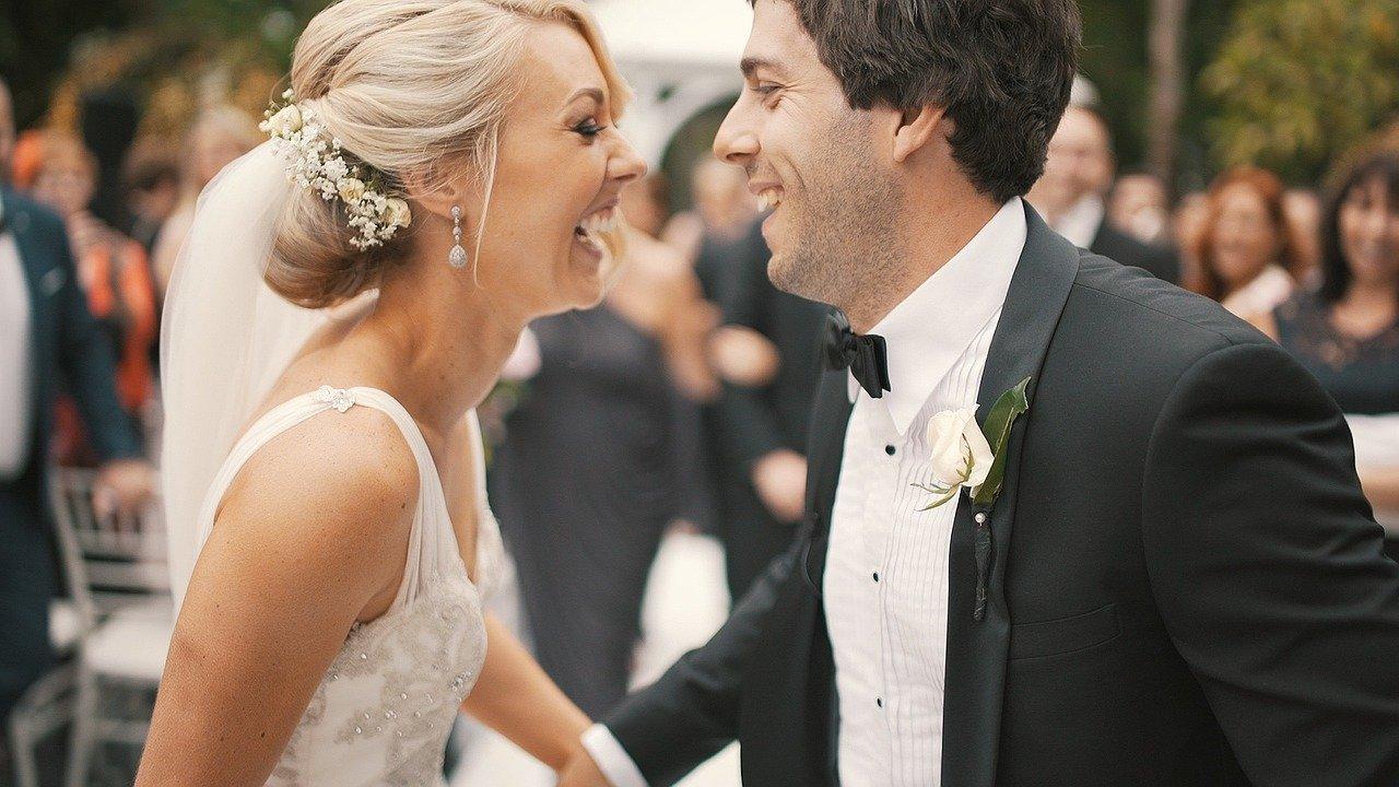 Bryllupsbillede