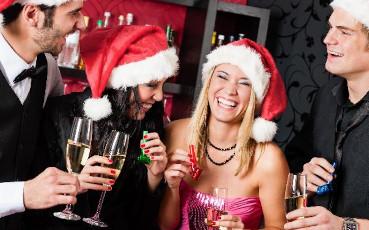 Lej musikanlæg og diskolys til julefrokosten